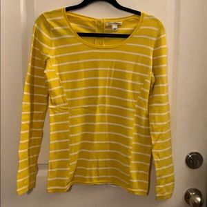 Banana Republic button back top